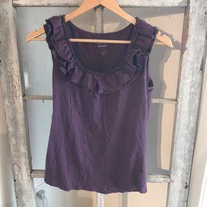 Deep purple Old Navy Cotton shirt!